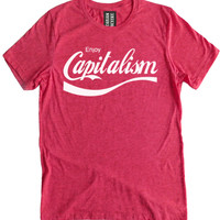 Enjoy Capitalism Premium Dual Blend T-Shirt