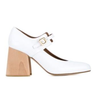 Marni Patent Leather Mary Janes With Wooden Block Heel - Browns - Farfetch.com