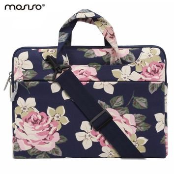 Mosiso Loptop 11 13.3 14 15.6 inch Canvas Zipper Sleeve Case for Macbook Air 11 Pro 13 15/DELL/Asus/Acer/HP Accessories New