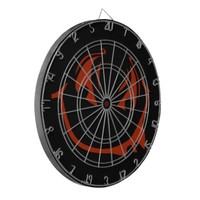 Dart Board - Smile Style (red)