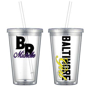 Baltimore Acrylic Cup - Free Shipping