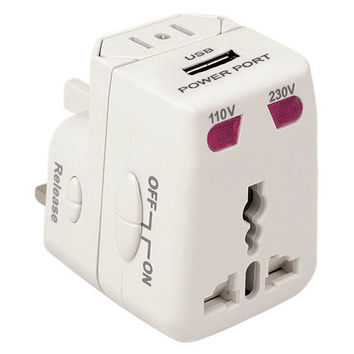 Travelon Worldwide Adapter and USB Charger — QVC.com