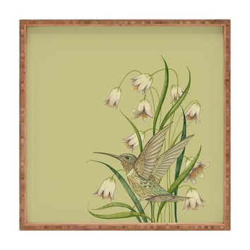 Pimlada Phuapradit Hummingbird 03 Square Tray