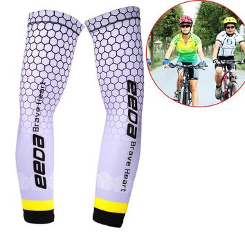 Cycling Running Volleyball Uv Sun Protection Protective Arm Sleeve Bike Sport Arm Warmers Cover Football Basketball Sleeves