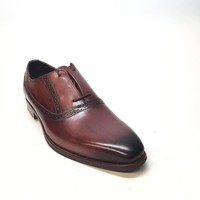 Zota Unique Brown Oxford Dress Shoe