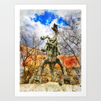 Cracow art 18 #cracow #krakow #city Art Print by jbjart