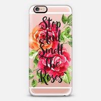 Stop And Smell The Roses iPhone 6s Plus case by Sara Eshak | Casetify