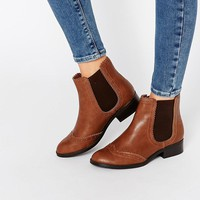 New Look | New Look Flat Chelsea Boot at ASOS