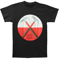 Pink Floyd Men's  Hammers In Circle T-shirt Black