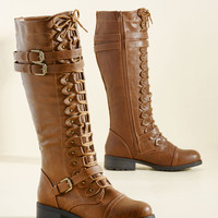 Channeling Classic Boot in Whiskey | Mod Retro Vintage Boots | ModCloth.com