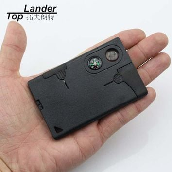 EDC Multi Tools Multifunction Outdoor Hunting Survival Camping Pocket Military Credit Card Knife