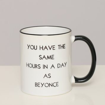 Beyonce Mug - What's New at Gypsy Warrior