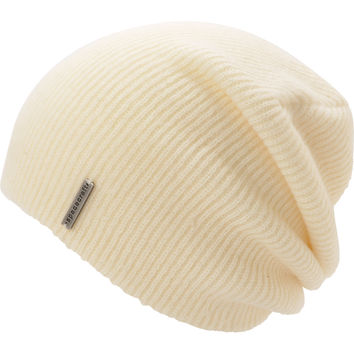 Spacecraft Quinn White Slouch Beanie