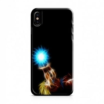 The Light in the Darkness Kamehameha iPhone X Case