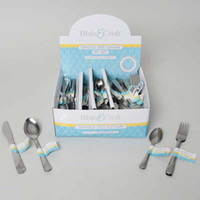 Stainless Steel Flatware - 108 3 Piece Sets - 108 Units