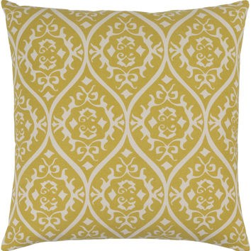 Surya Somerset Throw Pillow Green, Neutral