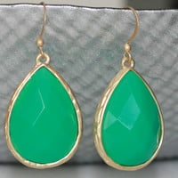 Hard Candy Teardrop Earrings