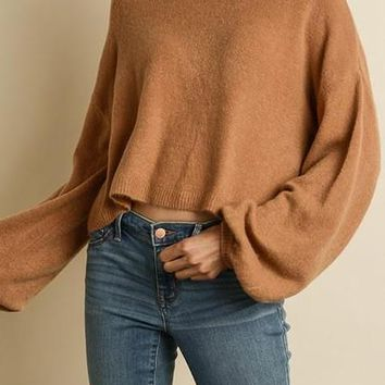 Joelle Sweater in Chestnut