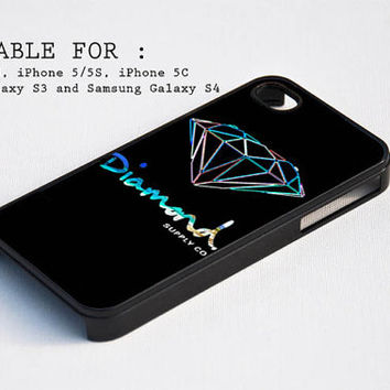 Diamond Supply Co 3 for iPhone 4, iPhone 4s, iPhone 5, iPhone 5s, iPhone 5c, Samsung Galaxy s3 and Samsung Galaxy s4 Case