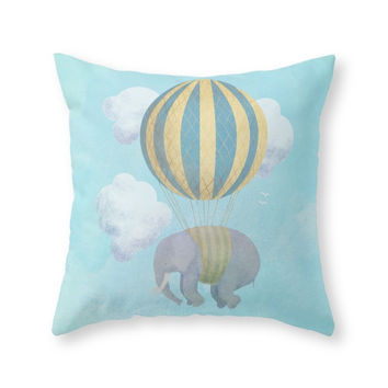 Society6 Escape From The Throw Pillow