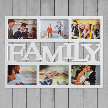 Family Photo frame (6 photos)