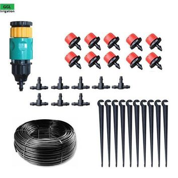 ONETOW New Automatic Home Garden Mini Watering Sprinklers Kits Flower Pot Micro Drip Irrigation System Balcony Watering Kit