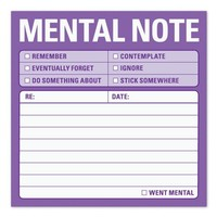 Mental Note Sticky Note - Whimsical & Unique Gift Ideas for the Coolest Gift Givers
