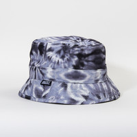 Digi Tie-Dye Bucket Hat in Black