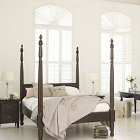 Keraton Carved Four Poster Bed