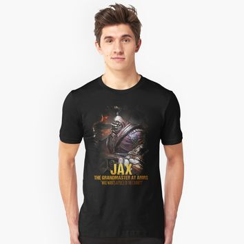 """League of Legends JAX - The Grandmaster At Arms"" Unisex T-Shirt by Naumovski 
