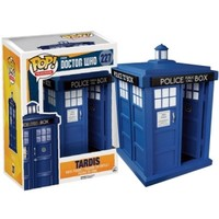 Doctor Who Pop! Vinyl Figures - 6 TARDIS : Forbidden Planet