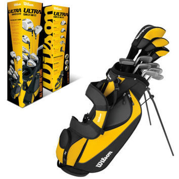 WILSON ULTRA Complete Package Right Handed Mens Golf Club Set w/ Bag