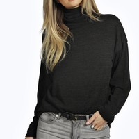 Cara Soft Knit Cowl Neck Jumper