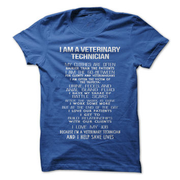 I Am A Veterinary Technician