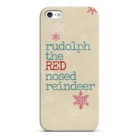 Rudolph the red nosed reindeer iPhone & iPod case by Sylvia | Casetagram