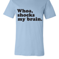 Whoa, Shocks My Brain, Phish, MSG - Unisex T-shirt