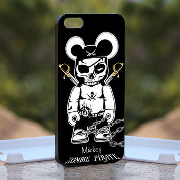 Mickey Zombie Pirate   - Design available for iPhone 4 / 4S and iPhone 5 Case - black, white and clear cases