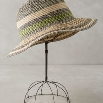 Jamesina Cloche by Anthropologie in Green Size: One Size Hats
