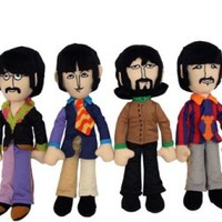 YELLOW SUB BAND MEMBERS PLUSH SET OF 4 [7315] - $89.00 : Beatles Gifts, The Fest for Beatles Fans