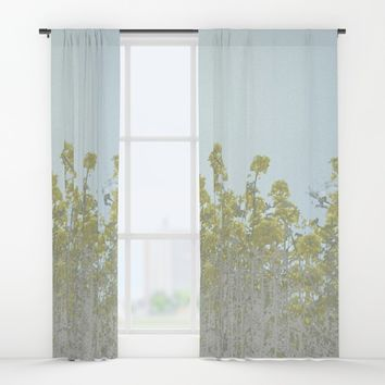 An Impressionist Spring Window Curtains by anipani