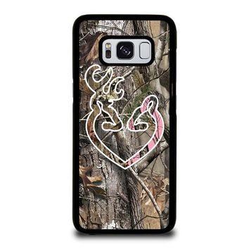 CAMO BROWNING LOVE-PHONE 5 Samsung Galaxy S3 S4 S5 S6 S7 Edge S8 Plus, Note 3 4 5 8 Case Cover