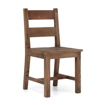 Zuo Lincoln Park Dining Chair Distressed Natural 98150