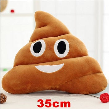 HOT SALE Cushion Emoji Emotion Pillow 36cm Funny Smile Plush Cotton Stuffed Bolster Pillows Cushions Toy Doll Holiday Present 29