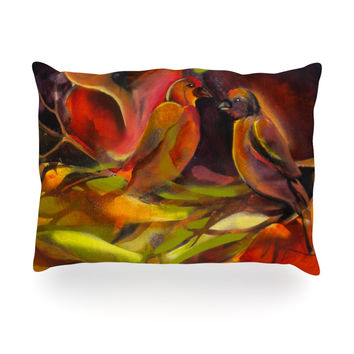 "Kristin Humphrey ""Mirrored in Nature"" Oblong Pillow"