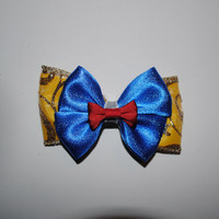 Snow White Inspired Bow