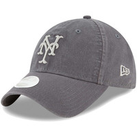 New York Mets New Era Women's Preferred Pick 9TWENTY Adjustable Hat - Graphite