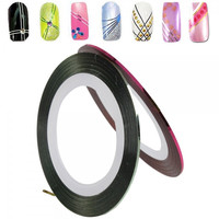 28 Colors Striping Tape Line Nail Art Decoration Sticker