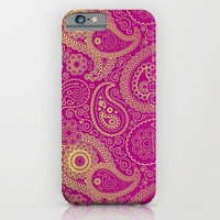 TRIBAL DREAM ( Purple ) - for iphone iPhone & iPod Case by Simone Morana Cyla