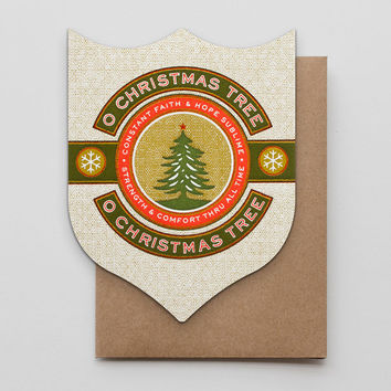 O Christmas Tree Badge