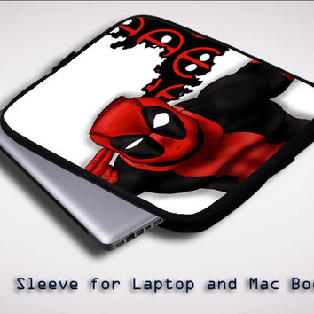 Deadpool cool Z1685 Sleeve for Laptop, Macbook Pro, Macbook Air (Twin Sides)